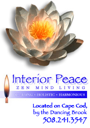 The Lotus Flower represents Peace and Harmony as represented By Interior Peace Zen Mind Living